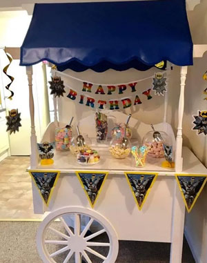 sweet cart for hire